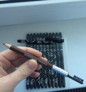 МАС карандаш для бровей с щеткой