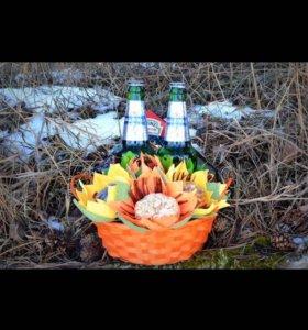 Мужской набор закусок к пиву
