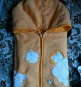 Детский конверт-одеяло