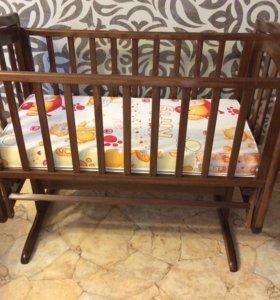 Детская кроватка-люлька Гандылян Лили