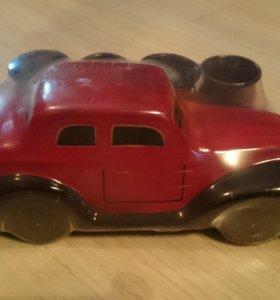 Штоф Автомобиль с рюмками