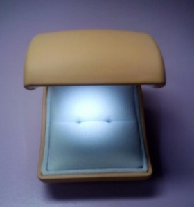 Коробочка для кольца с подсветкой