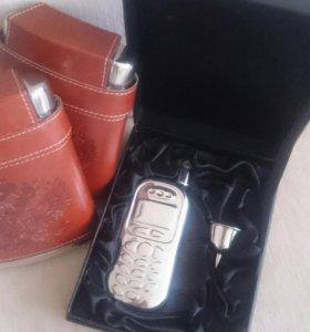 Фляга в форме телефона и другие...