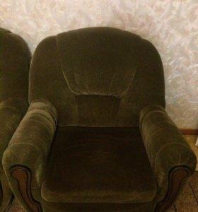 Кресло-кровать(цена за 2 кресла)