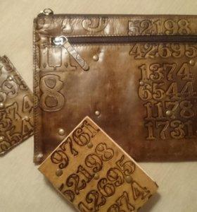Чехол для планшета,телефона,записная книжка