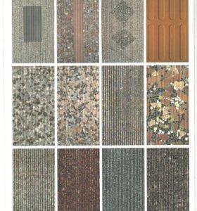 Линия по производству тротуарной плитки.