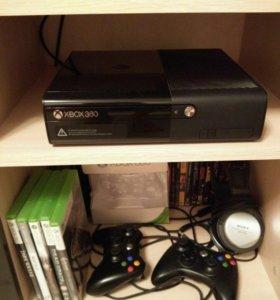 Xbox 360 E (500 Гб) + 25 игр