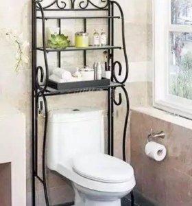 Кованые этажерки для ванных комнат
