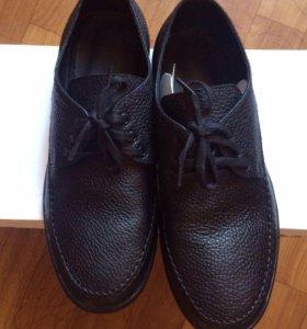Мужские нат кожа ботинки новые