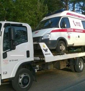 Эвакуатор для перевозки а/м до 4 тонн