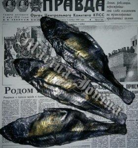 Рыба вобла мыло ручной работы