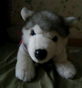 Игрушка собака Лайка