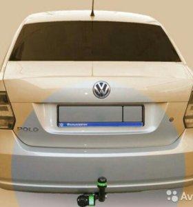 Фаркоп Leader на Volkswagen Polo sedan С 2010 г.