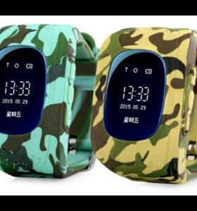 ⌚ часы Q50 GPS камуфляж