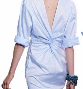 Новое платье-рубашка (44,46)