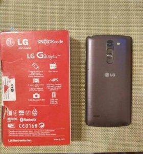 Телефон LG G3 stilus