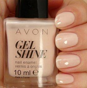 Лаки для ногтей гель-эффект Avon