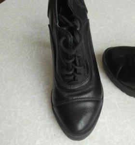 Ботинки натуральный кожи раз.39