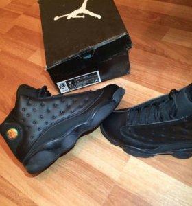 Jordan air retro 13 black новые!