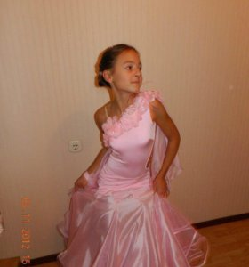 Платье для бальных танцев Стандарт 10-12 лет
