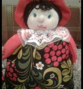 Кукла -Грелка на чайник