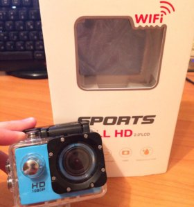 Action camera wi-fi (новая)
