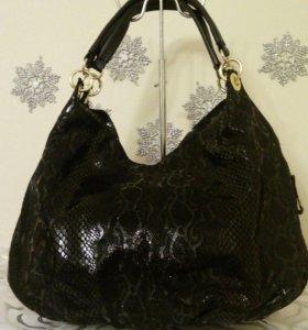 Итальянская кожаная сумочка 🇮🇹