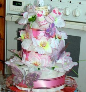 Торт из панперсов