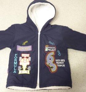 Куртка демисезонная на 9 месяцев