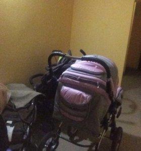 Детская коляска после одного ребёнка