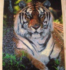 Алмазная картина Тигр