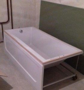 Новая ванна акриловая