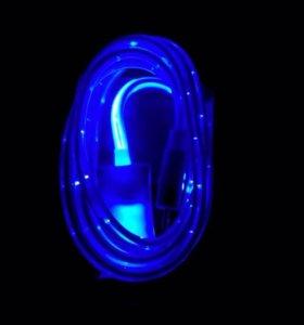 Светящиеся зарядки на iPhone(новые)