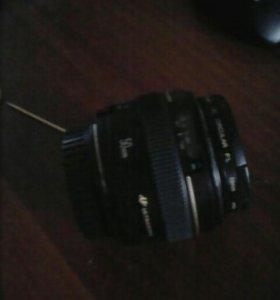 Об'ектив Canon 50
