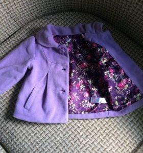 Детское кашемировое пальто
