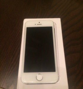 продам iPhone 5s, 16 Gb Silver
