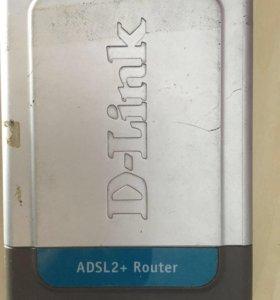 ADSL роутер D-Link