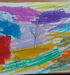 Картина в мире красок