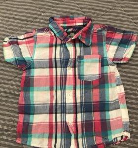 Рубашка H&M 4-5 года