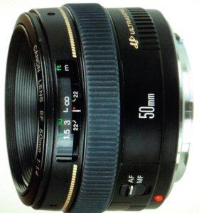 Объектив Canon EF 50mm f/1.4 U