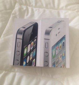 Коробки для айфона 4 S