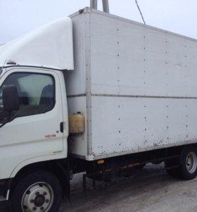 Грузоперевозки,переезды,грузовик 5т,грузчики