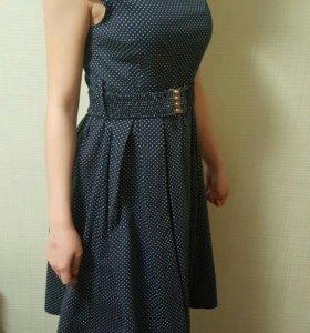Платье в горошек - тренд сезона