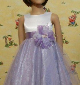 Детское платье на Новый год.