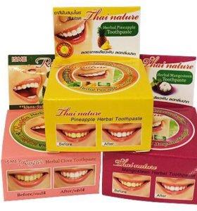 Отбеливающая зубная паста Таиланд
