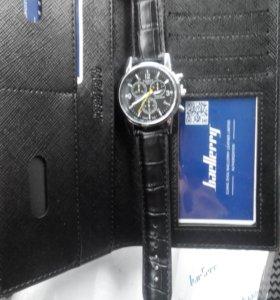 Клатч baellerri + часы Tissot