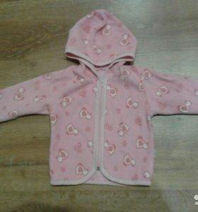 Флисовая курточка(кофта)