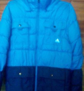 Куртка(зима) оригинал adidas 46-48р,срочно