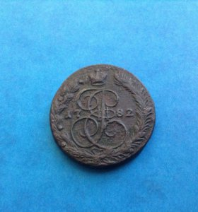 Монета Екатерины