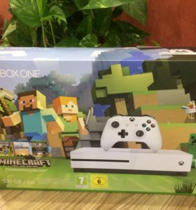 Новый XBOX ONE S 500GB + 2 игры